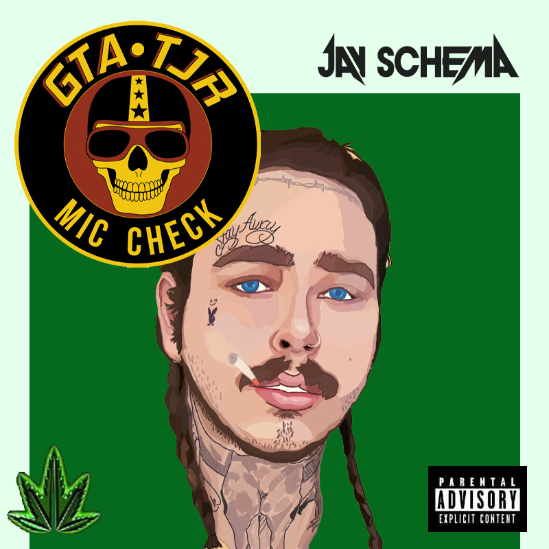 Post Malone Hit This Hard: MIC CHECK STILL WOW (JAY SCHEMA Edit) By POST MALONE VS DR