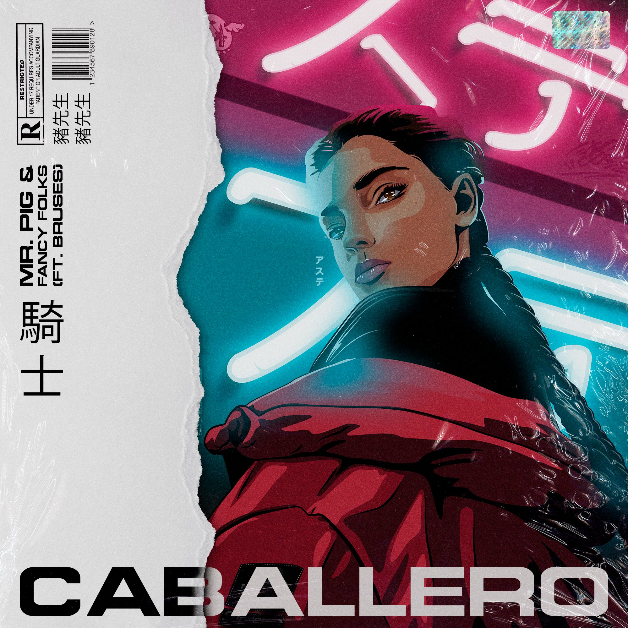 Mr Pig & Fancy Folks - Caballero (ft  Bruses) (STEMS & ACAPELLA) by