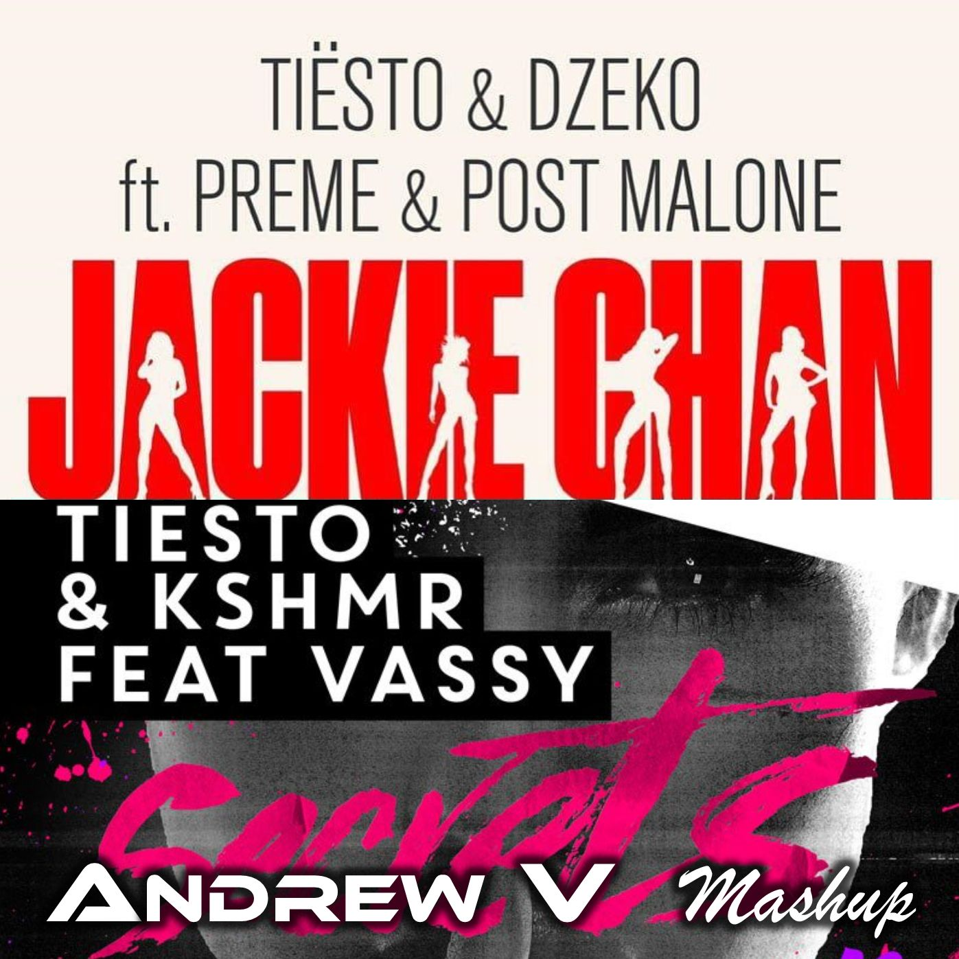 Post Malone Hit This Hard: Jackie Secrets (Andrew V Mashup) By Tiesto Vs Post Malone